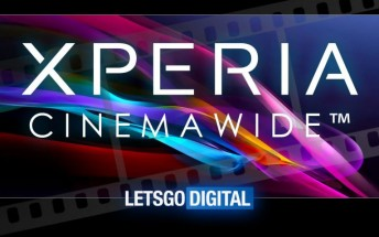 "Sony trademarks ""CinemaWide"" display for Xperia XZ4"