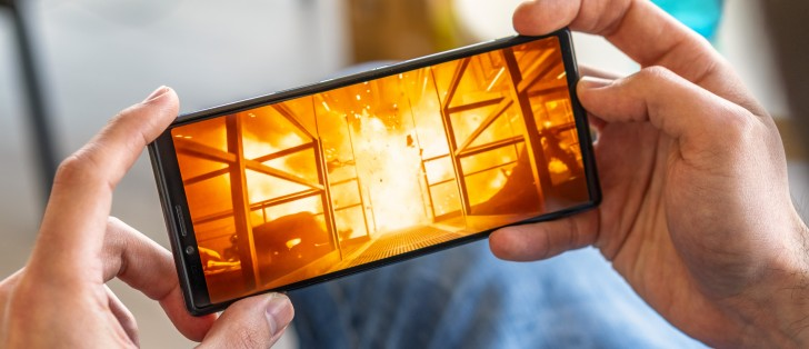 Sony's press videos for the new Xperia 1, 10 and 10 Plus are
