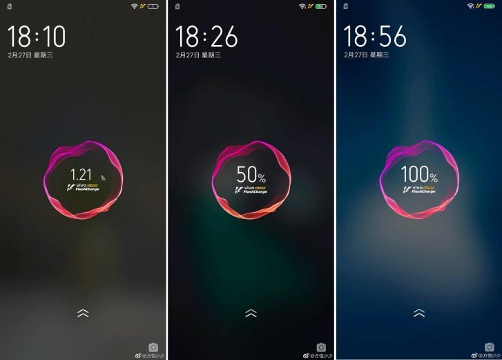 vivo iQOO fully charging under 50 minutes, leak shows