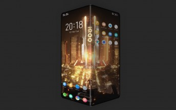 First vivo iQOO phone images arrive - it is a foldable phone