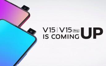 vivo V15 Pro front camera pops up in official teasers