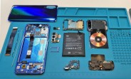 Xiaomi Mi 9 taken apart, check out the 20W wireless charging coil and triple camera
