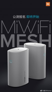 Xiaomi unveils MiWiFi mesh router with Wi-Fi, gigabit Ethernet