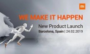 Watch the Xiaomi event at MWC 2019 here