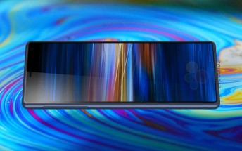 Sony Xperia XA3 product images show a 21:9 screen, just like the XZ4