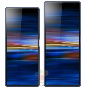 Sony Xperia XA3 and XA3 Ultra side by side