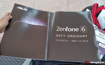 Asus Zenfone 6 to be announced on May 14