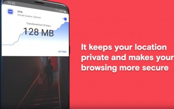 Opera for Android update brings unlimited VPN service