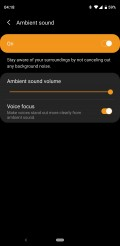 Samsung Wearables app for Galaxy Buds