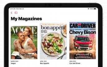 Apple News+ subscription gives you over 300 publications for $9.99 per month