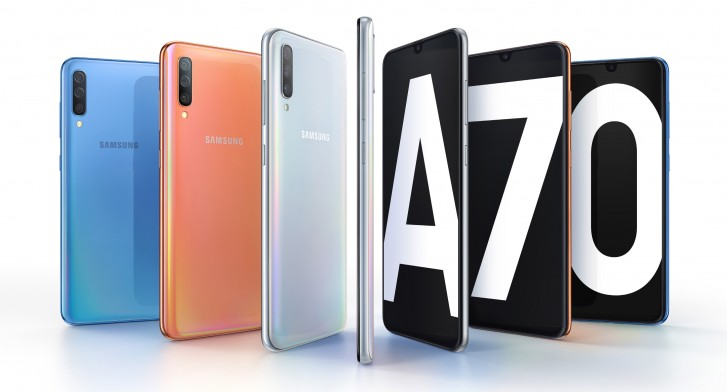 Samsung Galaxy A70 debuts with a 6.7
