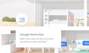 Google leaks Nest Hub Max, 10-inch HD screen and a camera in tow