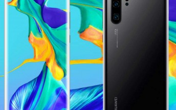 The Huawei P30 and P30 Pro show up on new set of renders, this time in black