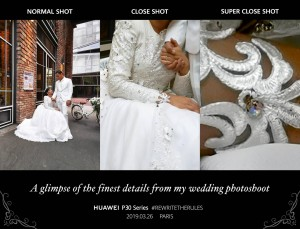 Huawei P30 Pro does wedding photography