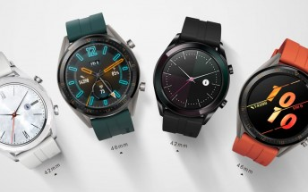 Huawei Watch GT gets Active and Elegant editions
