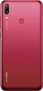 Huawei Y7 (2019) in Coral Red