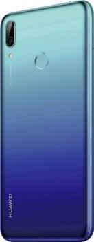 Huawei Y7 (2019) in Aurora Blue and Midnight Black