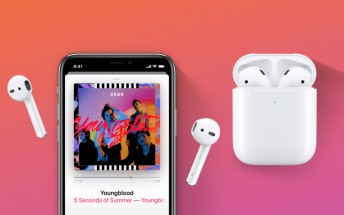 Apple unveils new AirPods with hands-free Siri, wireless charging case