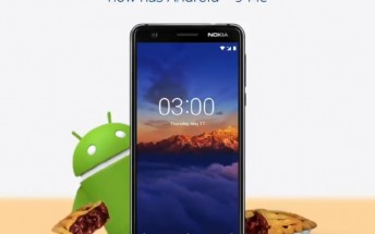 Nokia 3.1 gets Android Pie update