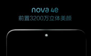 Huawei nova 4e key specs leak ahead of launch