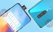 OnePlus 7 concept leaks in colorful renders