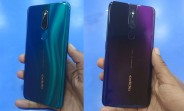 Oppo F11 Pro colors revealed in hands-on video