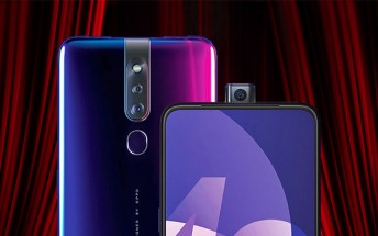 Oppo F11 Pro selfie camera motor can be used 100 times a day for 6 years