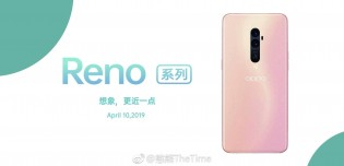 Oppo Reno in Pink