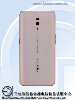 Oppo Reno on TENAA