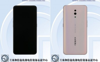 Oppo Reno specs and images appear on TENAA