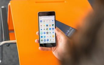 Google Pixel 2 caught running Android Q