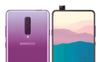Samsung US website reveals new Galaxy A90