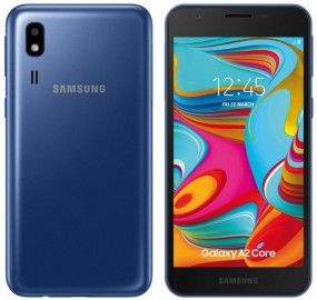 Samsung Galaxy A2 Core: leaked image