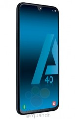 Samsung Galaxy A40 from all sides