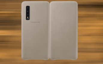 Samsung to offer an official leather case for the Galaxy Fold