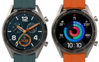 Two Huawei Watch GT variants rumored to launch with P30 this month