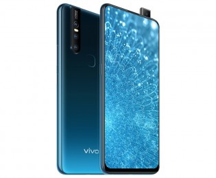 vivo S1 in Ice Lake Blue color