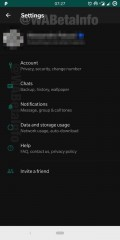 Dark Mode on WhatsApp for Android