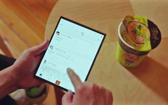 Xiaomi posts another video of its double folding phone