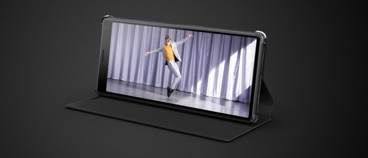 Sony gives you a free case with the Xperia 10 and 10 Plus in