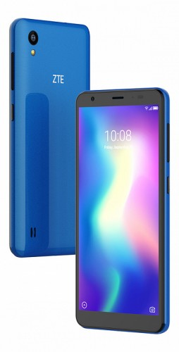 ZTE Blade A5 2019 in Blue and Black