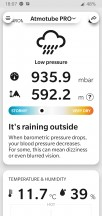 The temperature, humidity and pressure readings are interesting as well - News 19 04 Atmotube Pro review