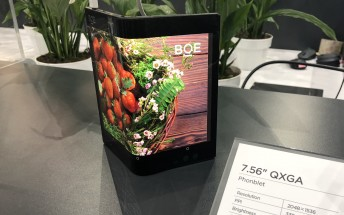 BOE Senior VP says more affordable foldable phones coming by 2021