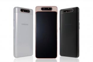 Samsung Galaxy A80 color options