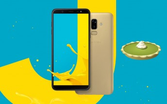 Samsung Galaxy J8 joins the Pie club with new update