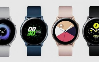 Samsung Galaxy Watch Active gets its first update