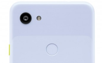 Google Pixel 3a leaks in purple hue with a yellow-colored power button