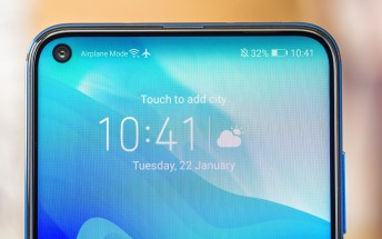 Confirmed: Honor 20 Pro will have a punch hole camera on the front