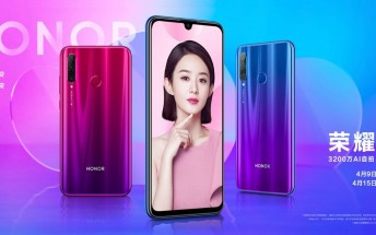 Honor 20i official images surface ahead of April 17 launch
