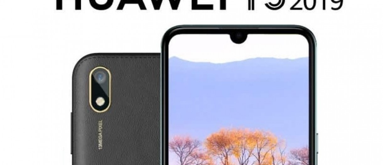 Huawei Y5 2019 new leak confirms 5 71-inch display and 13MP